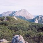 Monte Amboto en el País Vasco