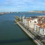 La localidad de Portugalete