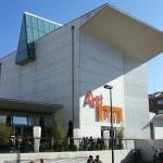 De Visita en Artium en Vitoria