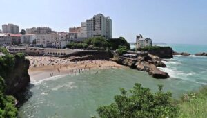 vistas-playa-Biarritz